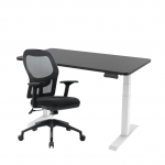 Pelion Standing Desk Home Office Set