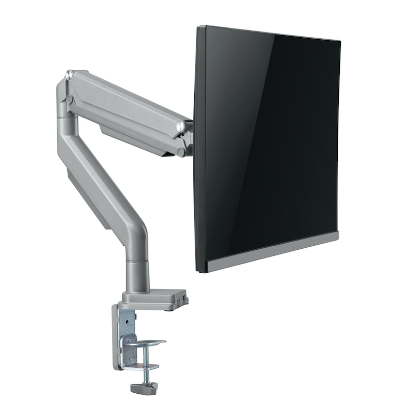 Single Monitor Arm with Screen